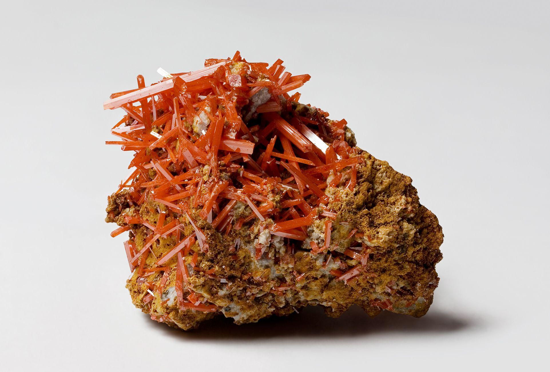 Crocoite mineral