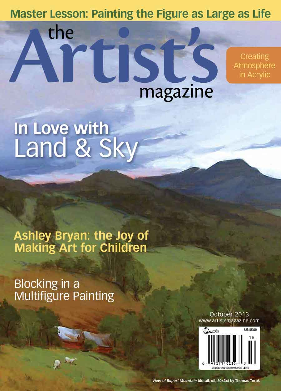 The Artist's Magazine October 2013