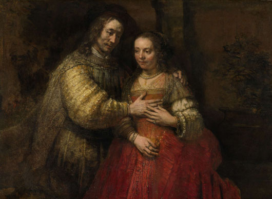 Rembrandt Jewish Bride