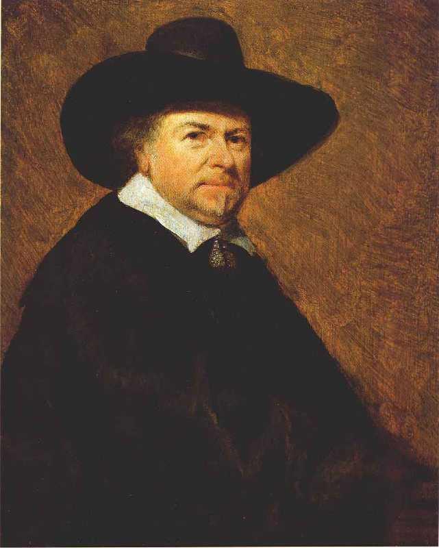 Portrait of Jan Van Goyen by Terborch Goyenuv