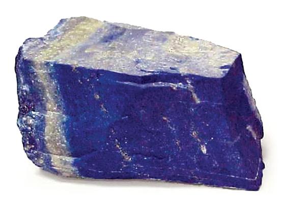 Blue Minerals Paint