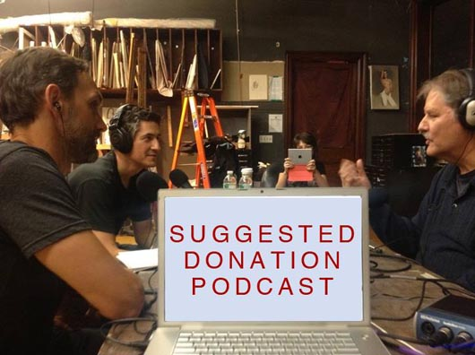 Suggested Donation Podcast with George O'Hanlon