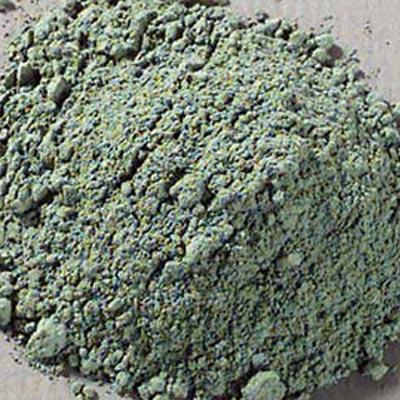 Pigment: Glauconite