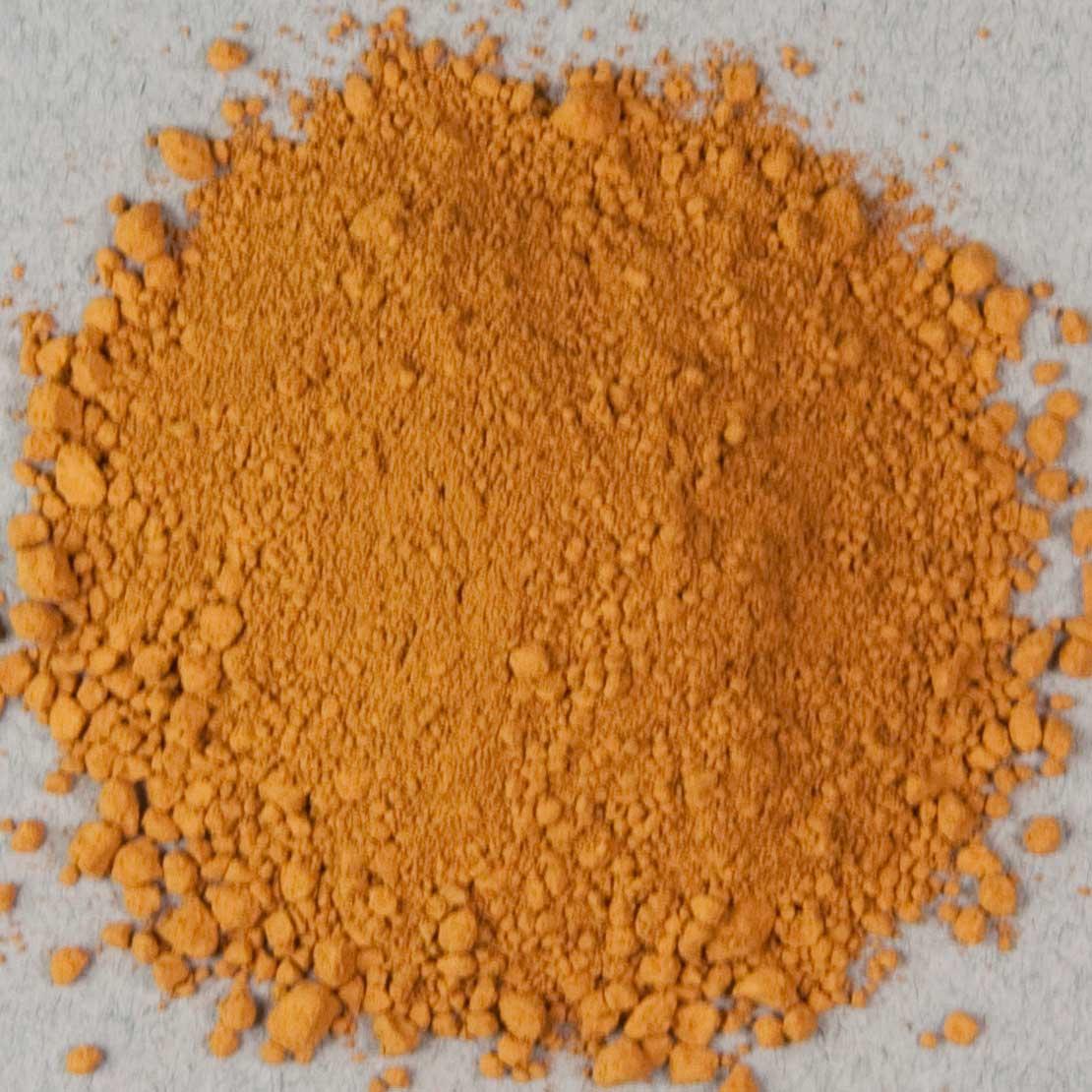 Pigment: Nicosia Yellow Ocher