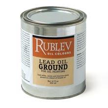 Rublev Colours Lead Oil Ground Quart 32 fl oz (0.95 L)