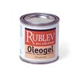 Oleogel is a firm thixotropic gel made with linseed oil and silica. Add to thicken colors for creating impasto effects that do not sink. Contains no driers, so it is safe to use in oil painting without worry of cracking.