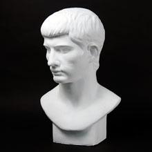 Drawing Plaster Cast: Roman Youth
