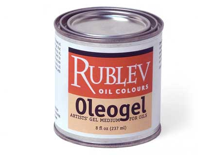Rublev Colours Oleogel Oil Gel Painting Medium