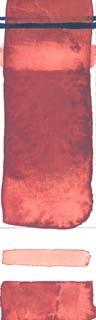 Rublev Watercolour Ercolano Red