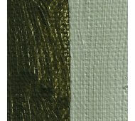 Rublev Colours Antica Green Earth Artists Oil Swatch