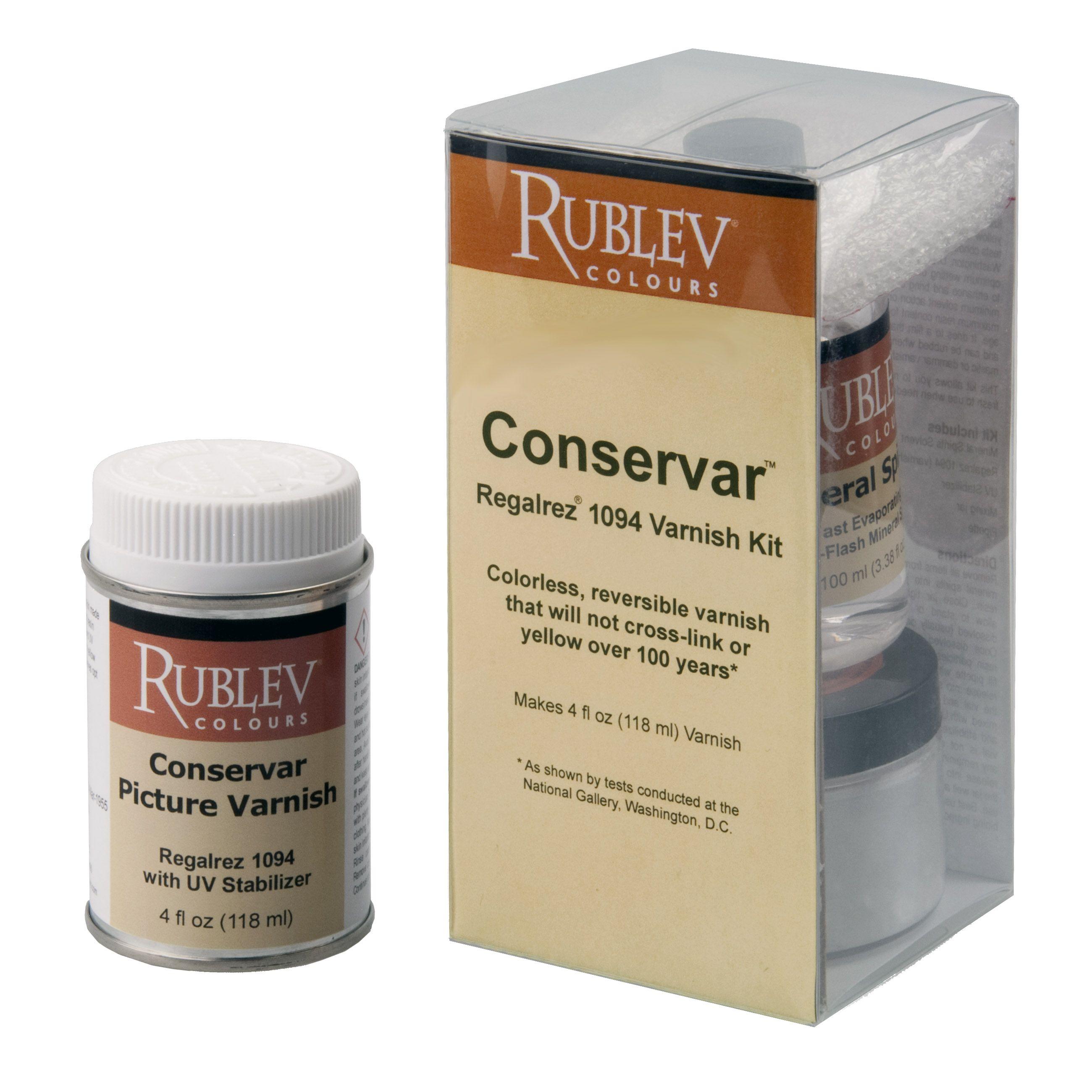 Conservar Varnishes and Varnish Kits
